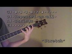 Bass Guitar Finger Exercises: Bass Guitar For Beginners