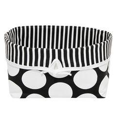 Large Baskets, Nursery Decor, Giraffe, Dots, Black And White, Sweet, Modern, Black White, Felt Giraffe
