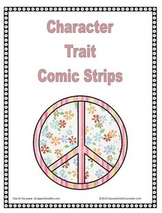 Character Trait Comic Strips- Freebie