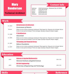 Modern Dwell Resume Template - The Naomi | Cv Template, Modern And