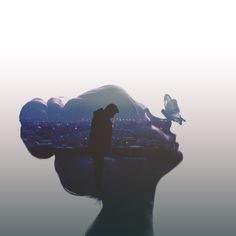 A Beautiful Compilation of Double Exposure Portrait Artwork Photography Projects, Artistic Photography, Creative Photography, Portrait Photography, Nature Photography, Beautiful Dark Art, Beautiful Images, Double Exposure Photography, Multiple Exposure