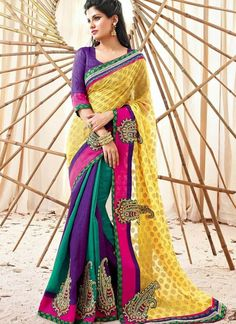 Fashion: Indian Wedding Clothing Store, Shop Designer Traditional Clothes Online for Mens, Women & Kids. Latest Saree Trends, Latest Indian Saree, Latest Sarees, Indian Sarees, Bollywood Designer Sarees, Indian Designer Sarees, Latest Designer Sarees, Designer Sarees Collection, Saree Collection