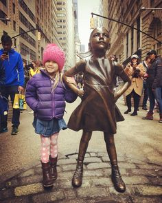 You must travel to New York City to see the Fearless Girl Statue.