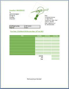 service invoice template | invoice templates | pinterest | invoice, Invoice templates