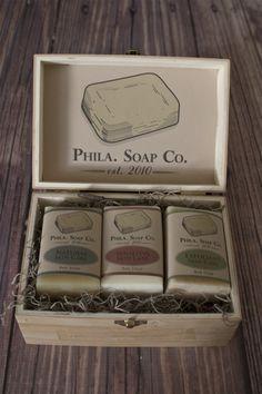 Phila. Soap Co. Packaging by Rachel Cannon, via Behance
