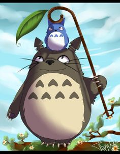 Tonari no Totoro by Dyaniart on DeviantArt My Neighbor Totoro, Children's Picture Books, Studio Ghibli, Childrens Books, Fairy Tales, Animation, Fan Art, Deviantart, Art Prints