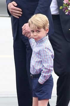 Prince George arrives in Warsaw, Poland
