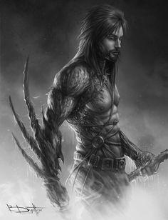 Scroll warrior by Boris-Dyatlov.deviantart.com on @DeviantArt