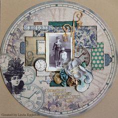 heritage layout by Linda Eggleton