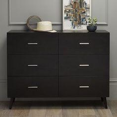 I love the Adams 6-Drawer Dresser on westelm.com for the master