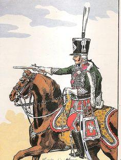 French; 8th Hussars,Senior Officer, Grande Tenue, c.1804-05