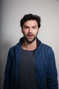 New favorite Aidan Turner picture. There is just something about this man