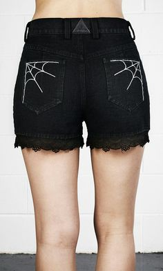 Frank Gothic Black Ladies Sexy Lace Adjustable Bandage T-shirt Halloween Spider Web Long Flare Sleeve Shirts Tops Tees Punk Rave T-449 Carefully Selected Materials Tops & Tees T-shirts