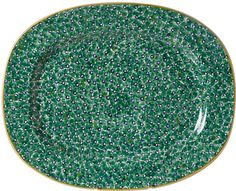 The King of all Platters Sunday Roast, Green Lawn, Green Pattern, Floral Design, Pottery, Colours, Ireland, King, Ceramics