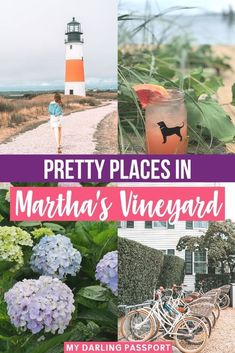 Pretty Places in Martha's Vineyard. I had the opportunity to spend some time on Nantucket and Martha's Vineyard. To me, there's no better place to enjoy summer than New England. These two islands off the coast of Cape Cod in Massachusetts are my ideal summer getaway. Check out my favorite photos from my travels to Nantucket and Martha's Vineyard. Places to Visit in Nantucket   Nantucket Travel Guide   Marthas Vineyard Vacation   Enjoy Summer, Photo Diary, Nantucket, Cape Cod, Travel Usa, New England, Travel Inspiration, Vineyard, Places To Visit