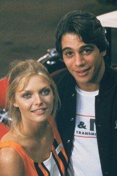 """Michelle Pfeiffer and Tony Danza in """"The Hollywood Knights"""" (1980)."""