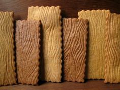 Wood Grain Graham Crackers from HomesteadingRoasters on Etsy. OMG, @Jennifer Hicks, isn't this the best thing you've seen for at least 24 hours on Pinterest!? LOL.