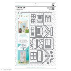 Set de Troqueles Xcut A4 - Casa Deco Design - 37 uds