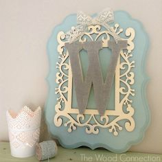 Monogram Plaque | The Wood Connection Blog