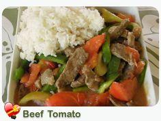 Beef Tomato - ILoveHawaiianFoodRecipes