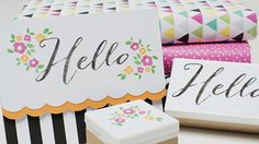 Hello - meet the Silhouette Mint - create multicolor stamps! Silhouette Curio, Silhouette Family, Silhouette Mint, Silhouette Portrait, Stamp Making, Tampons, Silhouette Projects, Stamping Up, Crafts To Make