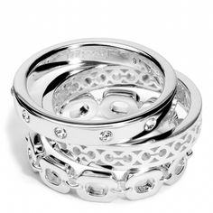 coach stacking rings