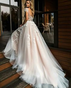 Wonderful Perfect Wedding Dress For The Bride Ideas. Ineffable Perfect Wedding Dress For The Bride Ideas. New Bridal Dresses, Wedding Dress Trends, Dream Wedding Dresses, Bridal Gowns, Bride Dresses, Lace Wedding, Wedding Bride, Event Dresses, Fashion Wedding Dress