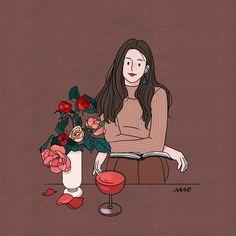 New Fashion Girl Sketch Art Illustrations Ideas Couple Sketch, Girl Sketch, Korean Illustration, Cute Illustration, Art Illustrations, Girl Cartoon, Cartoon Art, Cute Drawings, Drawing Sketches