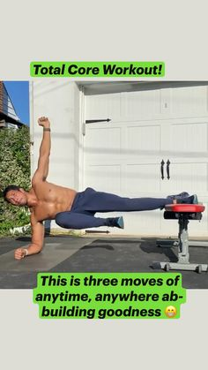 Abs And Cardio Workout, Calisthenics Workout, Gym Workout Videos, Abs Workout Routines, Gym Workout For Beginners, Ab Workouts For Men, Mens Fitness Workouts, Fitness Tips, Hiit Workouts For Men