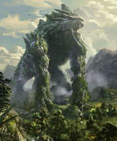 Earth monster by mingrutu on DeviantArt