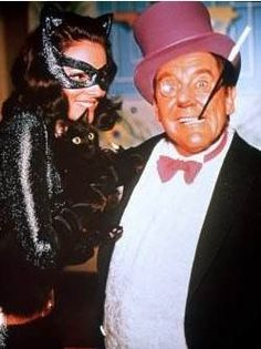 Batman: The Movie (1966) - Catwoman (Lee Meriwether) & The Penguin (Burgess Meredith)