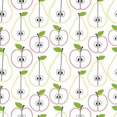 Fresh fruit fabric by martinaness on Spoonflower - custom fabric