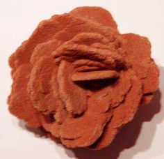 Oklahoma designated rose rock (brose) as the official state rock in 1968. These rocks were formed by barite rock crystals during the Permian Age and resemble blooming roses. They are found in only a few rare places around the globe. Barite Rose Rocks can be found in clusters with only two roses to as many as hundreds of roses (some clusters weigh hundreds of pounds).