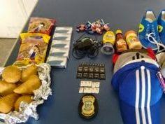 Detento é flagrado com salgados, pipoca e acessórios para celulares no presídio do Serrotão, em Campina Grande