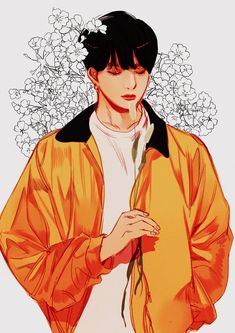 Bts Jungkook Fanart Jungkook Fanart, Kpop Fanart, Bts Jungkook, Taehyung, Anime Guys, Kpop Drawings, Anime Art, Bts Chibi, Bts Lockscreen