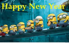 Happy New Year Minions Picture