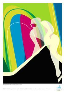 torino olympic posters hockey - Google Search