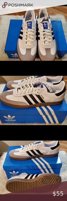 Adidas Shoes OFF!>> Adidas Samba OG Men's Black and white Samba Adidas adidas Shoes Athletic Shoes Adidas Samba, Plus Fashion, Fashion Tips, Fashion Design, Fashion Trends, Fashion Outfits, Adidas Shoes Outlet, Adidas Men, Athletic Shoes