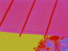 """'Stoffdesign """"pinkgrünlila 150""""' von Rudolf Büttner bei artflakes.com als Poster oder Kunstdruck $18.71"""