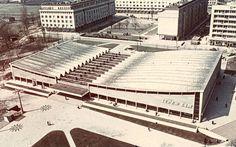 """Supermarket """"Supersam"""" Warsaw 1962"""