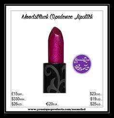 Moodstruck Opulence Lipstick Look at those lips.