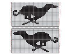 Erssie - Knitting Charts - Small Fair Isle Borders