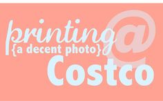 Some tricks and tips on how to print better at Costco! A quick and easy way to print your photos and artwork.