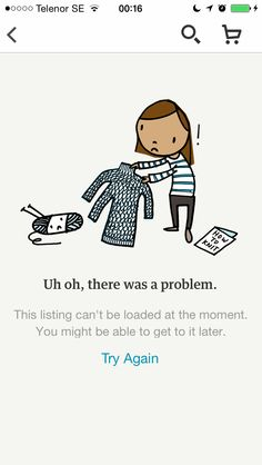 Etsy - Page not found error message
