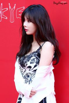 Hyuna is absolutely beautiful ❤