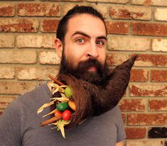Mr. Incredibeard, who is also known by some as Isaiah Webb, has been perfecting his beard-crafting skills since 2012, so he's at the top of his hair-styling game right now. His beard sculptures are some of the most advanced we've ever seen.