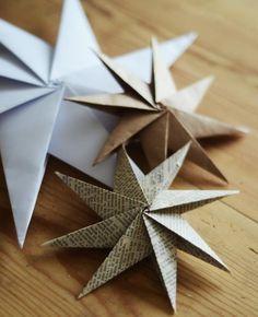 Uma estrela de papel