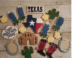 I'm a Native Texan yall  Texas Sugar Cookies https://www.facebook.com/sweetcharleyconfections
