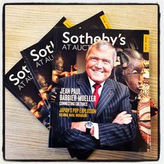 Just received the latest Sotheby's At Auction/ #sothebys #luxury #magazine #atauction