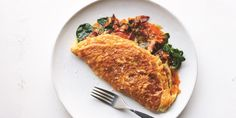 Pop's Double-Stuffed, Double-Fluffed American Omelet Egg Omelet, Omelette Recipe, Omelette Ideas, Healthy Omelette, Best Egg Recipes, Brunch Recipes, Favorite Recipes, Healthy Recipes, Breakfast Dishes